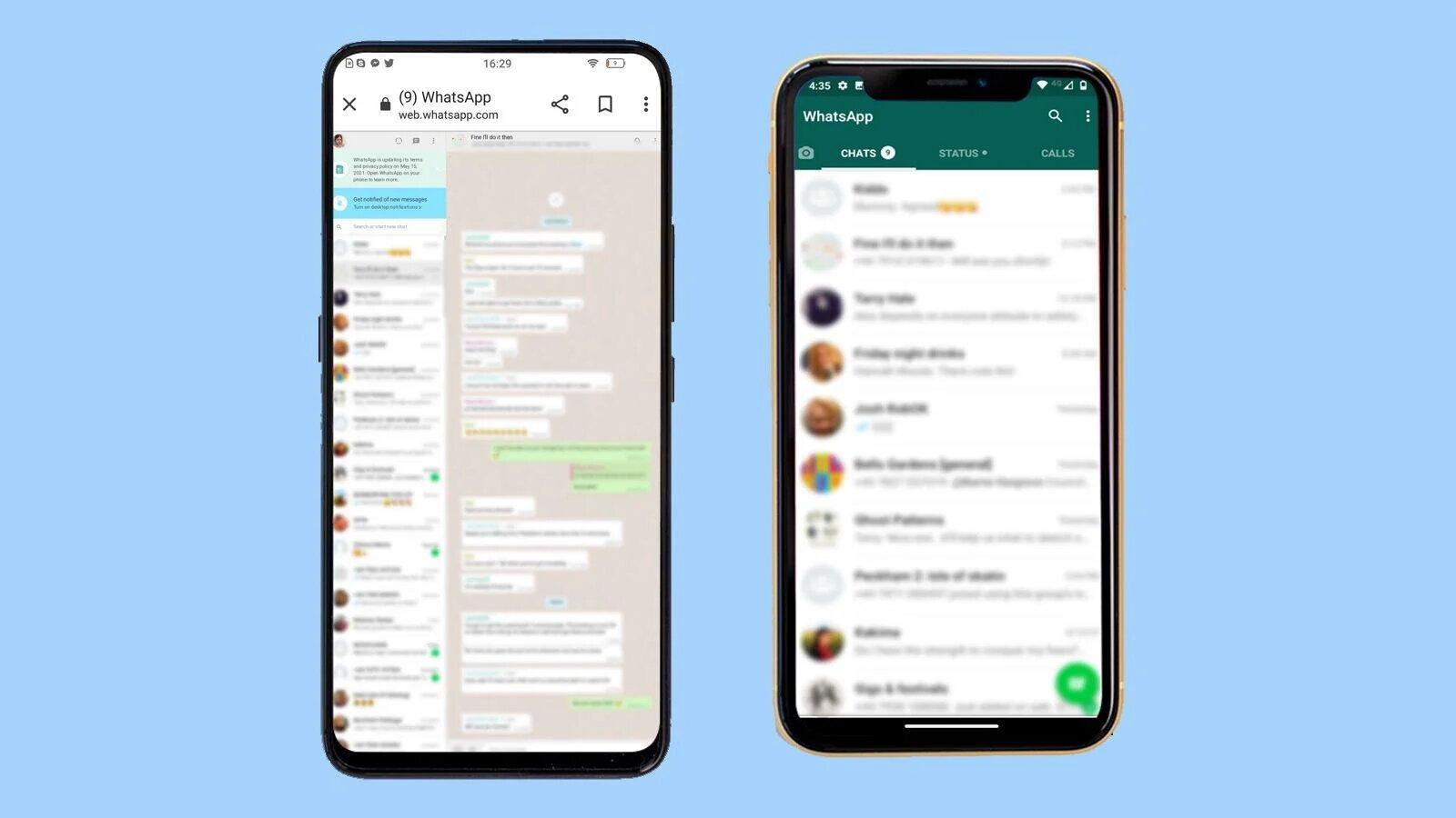 استفاده همزمان از یک حساب واتساپ روی دو گوشی