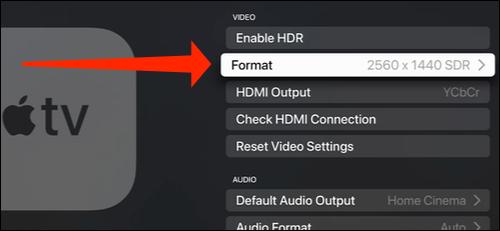 apple tv display resolution - نحوه تغییر رزولوشن نمایشگر در اپل تی وی