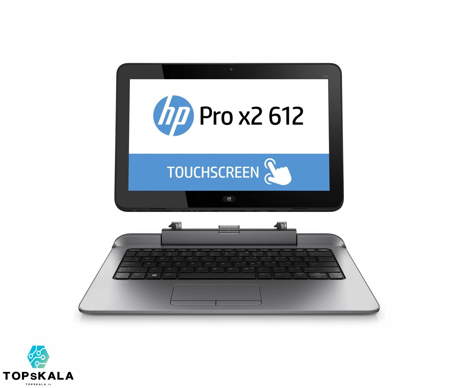 لپ تاپ استوک اچ پی مدل HP Pro X2 612 G1 Tablet - کانفیگ A