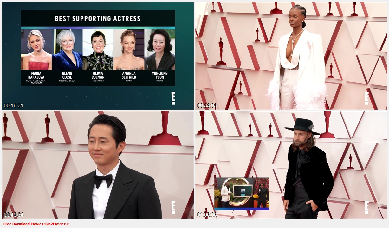 The 93rd Oscars 2021 720p WEBRip YTS B2Mz mp4