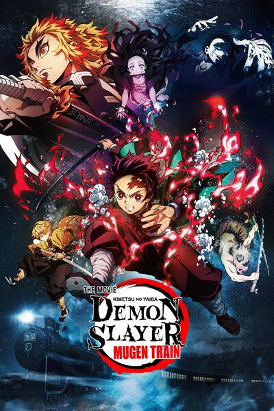 دانلود انیمه سینمایی Demon Slayer Movie: mugen train با زیرنویس فارسی چسبیده