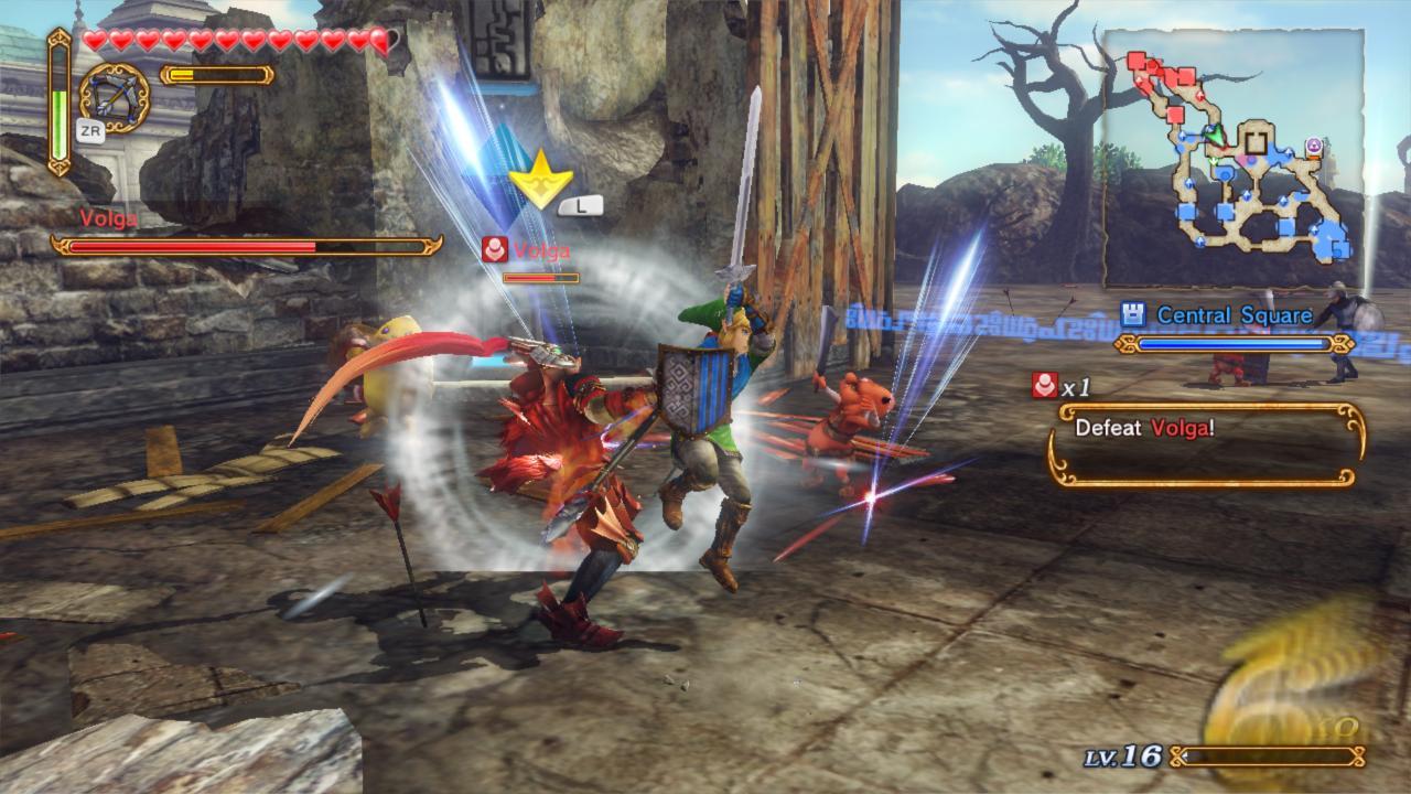 دانلود بازی Hyrule Warriors برای کامپیوتر لینک