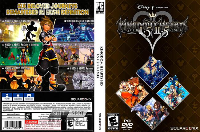 Kingdom Hearts HD Cover