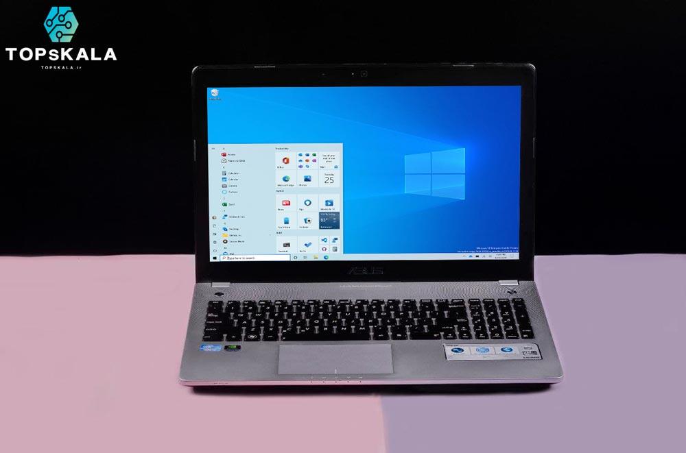 لپ تاپ استوک ایسوس مدل ASUS N56vm - پردازنده Intel Core i7 3610QM با گرافیک Nvidia GeForce GT630m