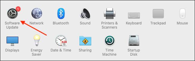 Click Software Update 1 - آموزش بروزرسانی مرورگر سافاری در مک