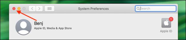 Quit System Preferences - آموزش بروزرسانی مرورگر سافاری در مک