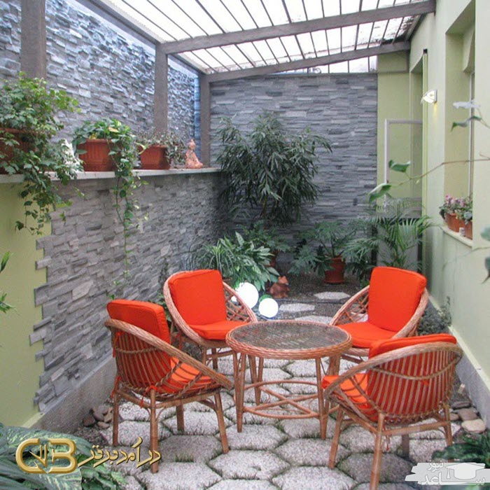 پوشش و اجرای سقف پاسیو , سقف کاذب حیاط خلوت و دیوار
