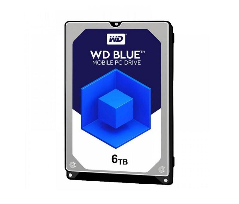 هارد دیسک اینترنال وسترن دیجیتال آبی ظرفیت 6 ترابایت مدل WD60EZRZ