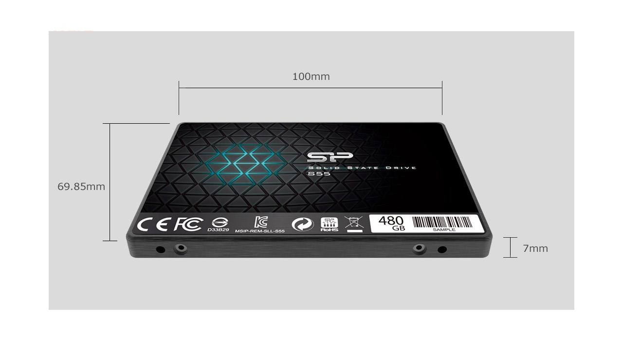 Silicon Power S55 SSD Drive 480GB