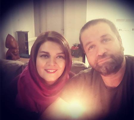 عکس مطلب بیوگرافی مزدک میرعابدینی + عکس مزدک میرعابدینی و همسرش