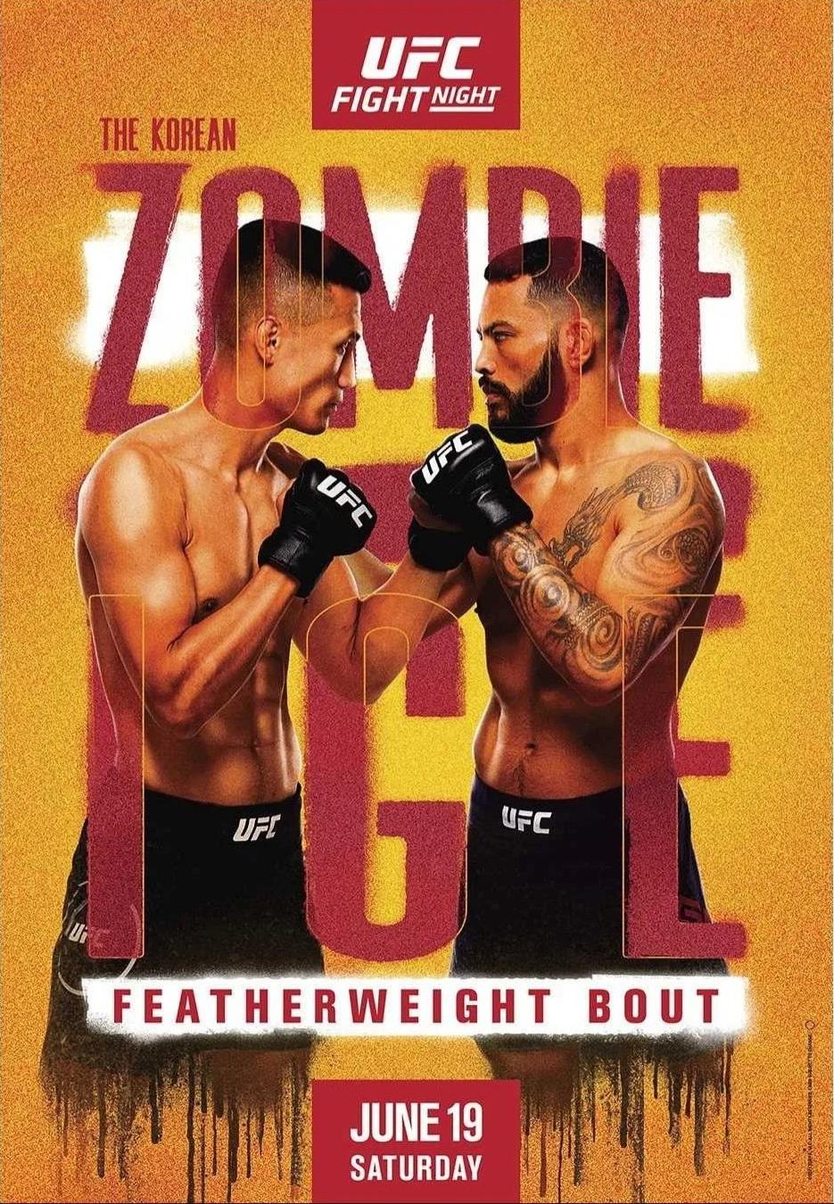 دانلو درویداد یو اف سی :  UFC on ESPN 25: The Korean Zombie vs. Ige