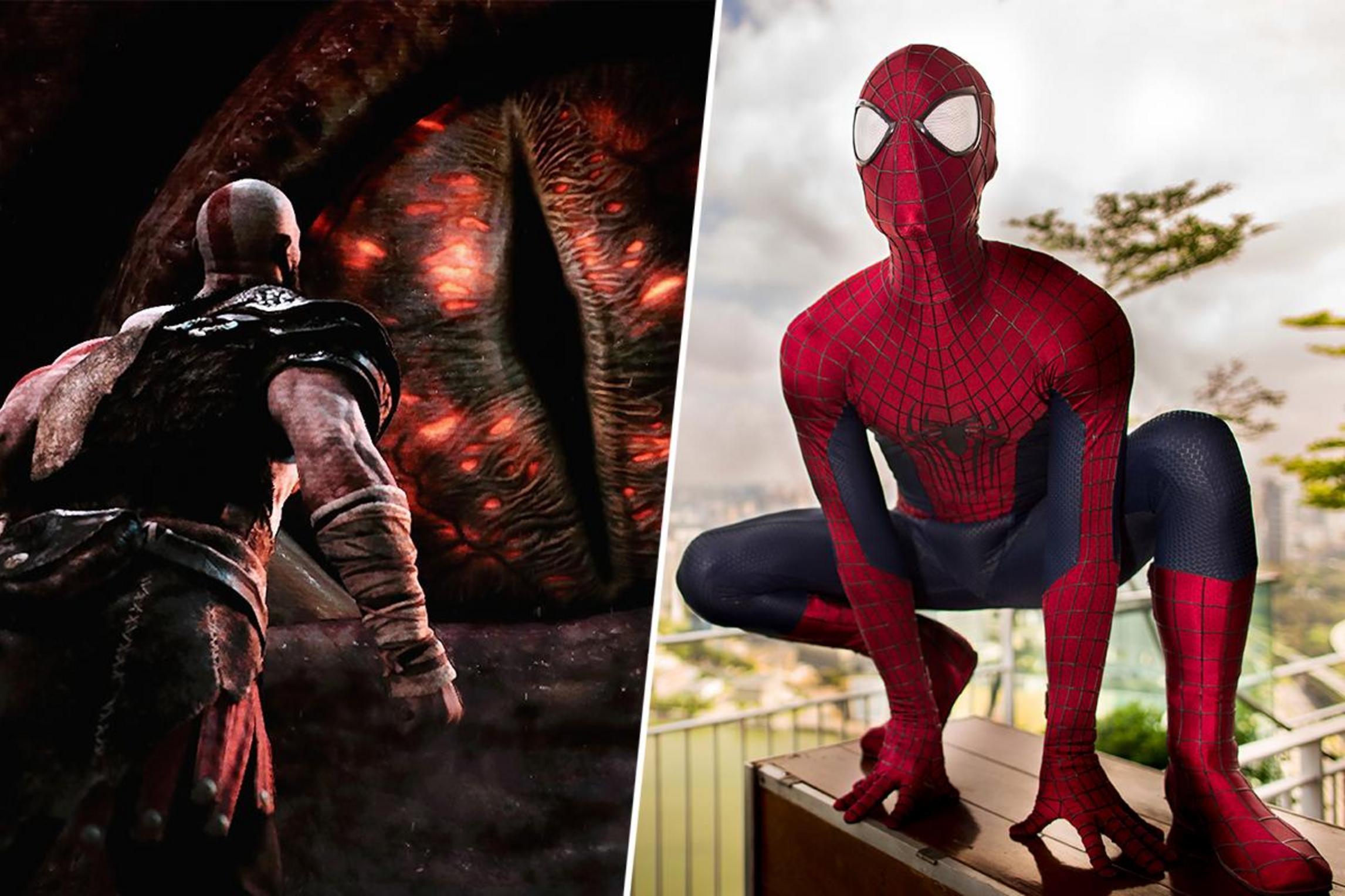 سازنده Spider-Man: اسپایدرمن میتواند کریتوس را شکست دهد
