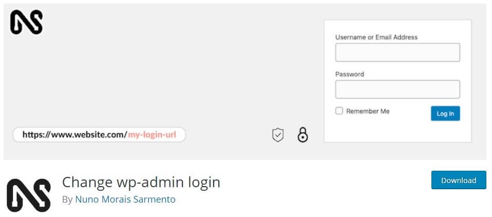 افزونه change wp-admin login
