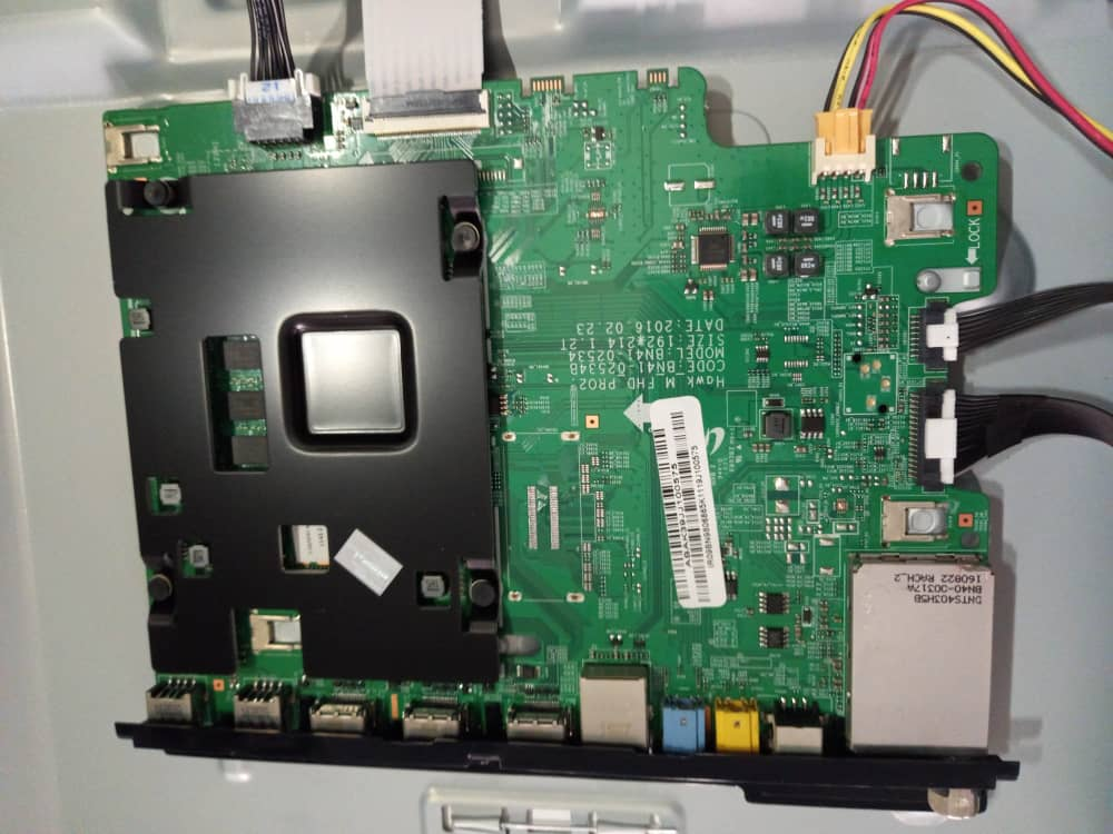 فروش اینترنتی مین برد تلویزیون ال ای دی سامسونگ مدل UA49K6960AW