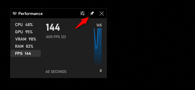 pin performance fps - نحوه مشاهده نرخ فریم در هر بازی ویندوز 10 (بدون نرم افزار جانبی)