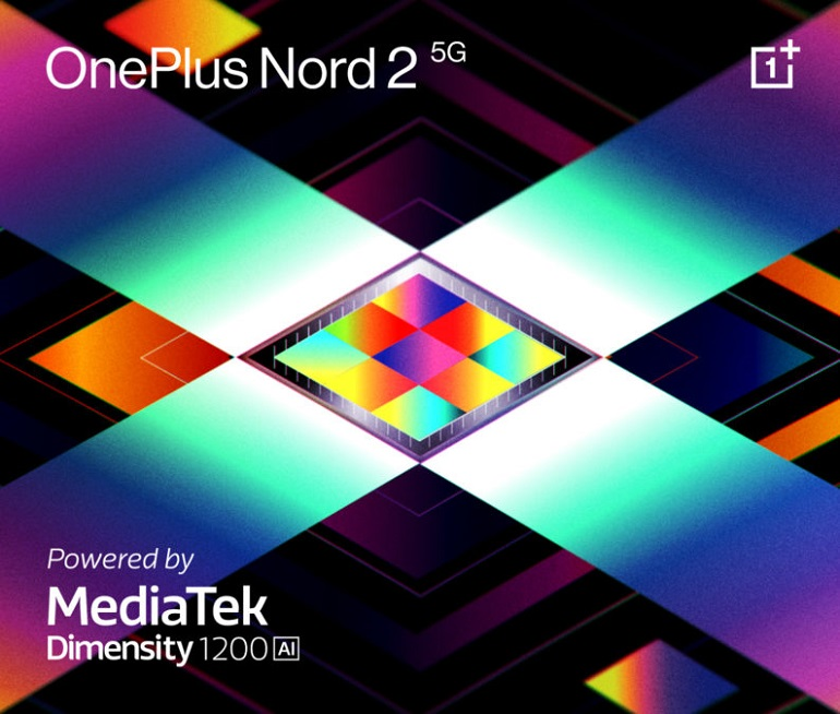 OnePlus Nord 2 MediaTek 794x675 - وان پلاس نورد 2 5G از تراشه قدرتمند مدیاتک استفاده خواهد کرد