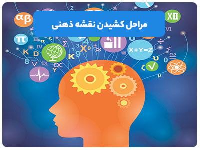 مراحل کشیدن نقشه ذهنی