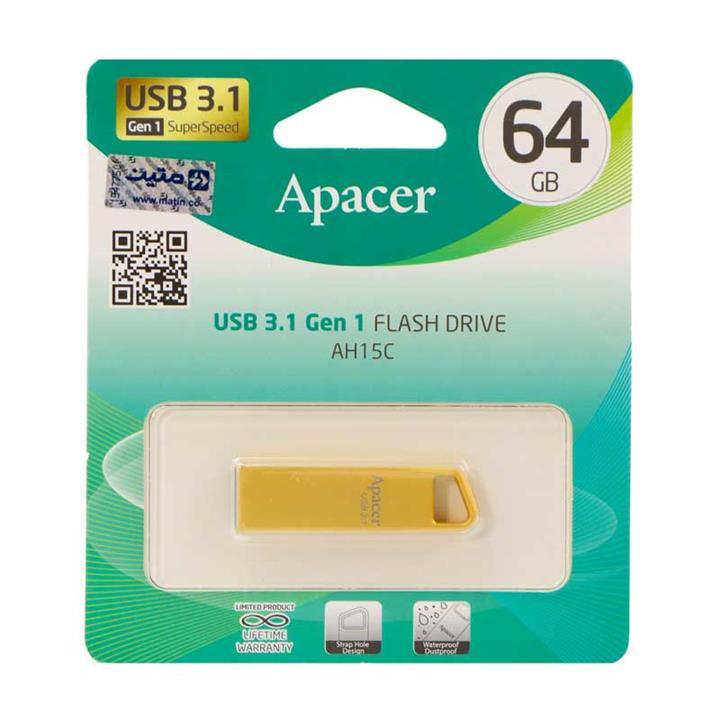 Apacer AH15C USB 3.1 Flash Memory 64GB