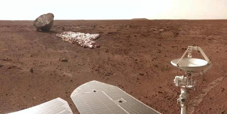 عکس های جدید مریخ از مریخنورد چینی