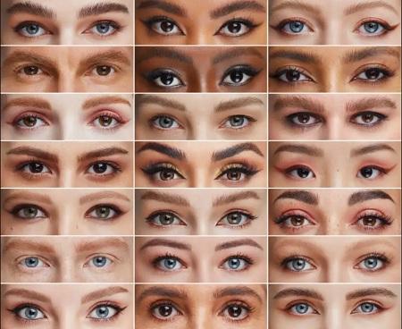 راهنمای انتخاب رنگ ابرو برای پوست های تیره و روشن eyebrow color