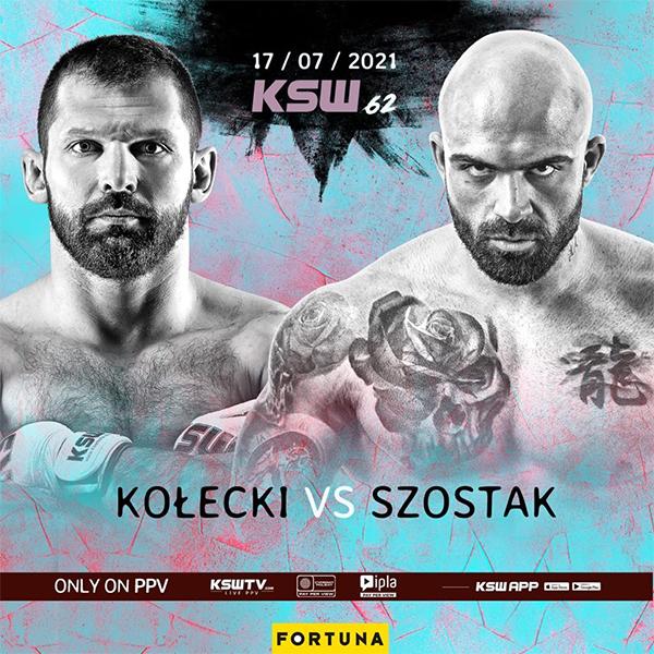 دانلود رویداد ام ام ای |  KSW 62: Kołecki vs. Szostak