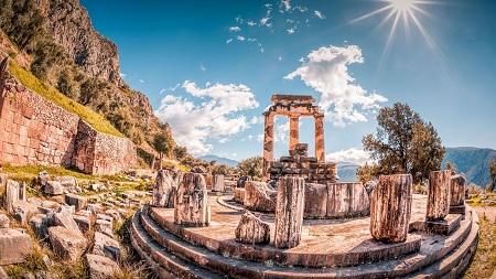 حقایق جالب از معبد دلفی در یونان history delphi greece