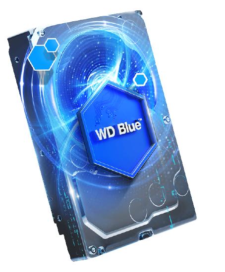 کاربرد رنگ هارد آبی وسترن دیجیتال در سیستم های کامپیوتری