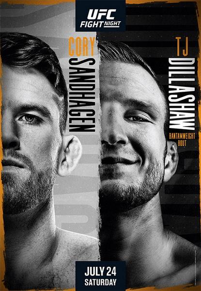 دانلود رویداد یو اف سی:  UFC on ESPN 27: Sandhagen vs. Dillashaw