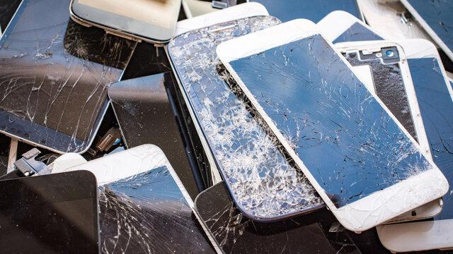 ترمیم صفحه نمایش موبایل به کمک مادهی آلی پیزوالکتریک