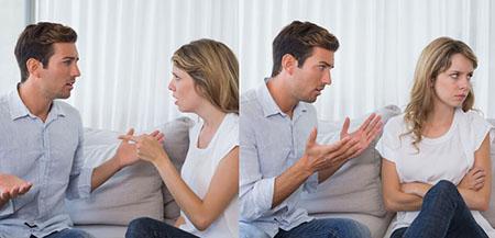 نحوه برخورد با همسر بی ادب rude wife