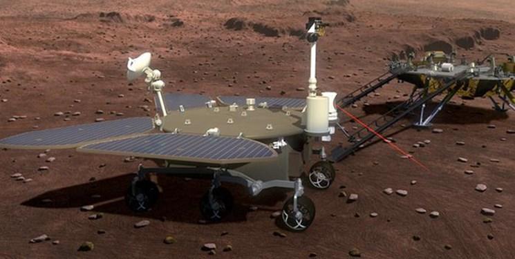 عکس و تصویر جدید کاوشگر چینی از مریخ Mars