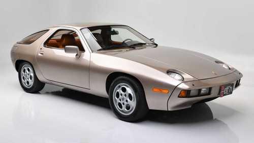 حراج پورشه 928 کوپه همبازی تام کروز Porsche Auction 928