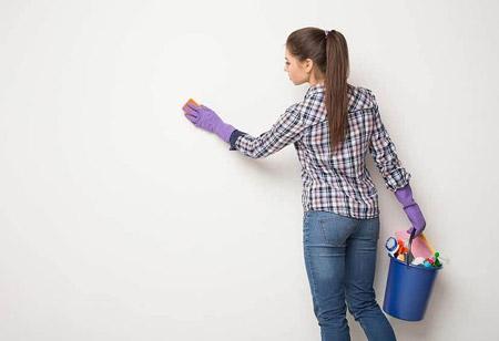 روش های آسان پاک کردن مداد رنگی از روی دیوار