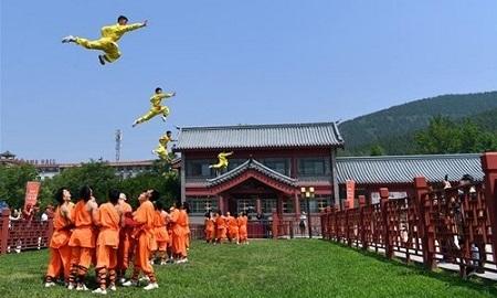 معبد شائولین مرکز آموزش راهبه های جنگجو shaolin temple