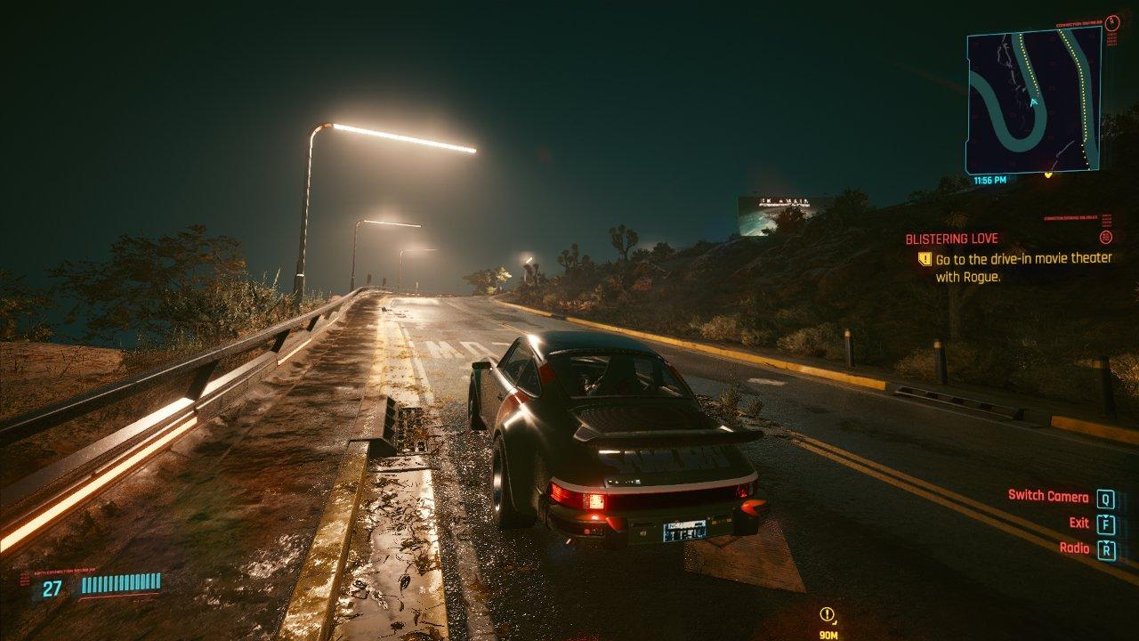 گیم پلی و رانندگی در بازی سایبرپانک 2077
