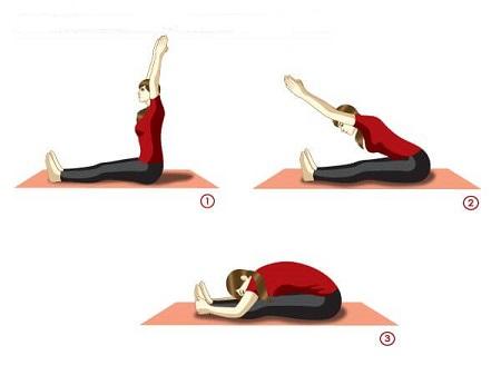 انواع تمرینات ورزشی برای درمان رفلاکس معده reflux