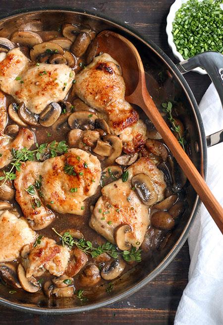 دستور تهیه انواع غذاهای رژیمی با فیله مرغ diet chicken fillet