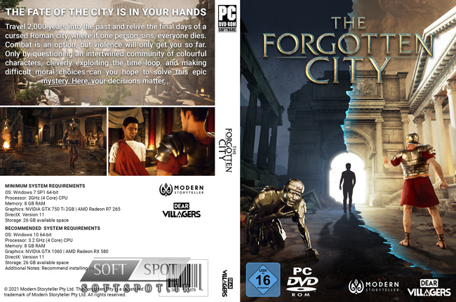 The Forgotten City Cover