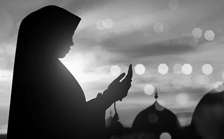 فلسفه حجاب در نماز Hijab prayer