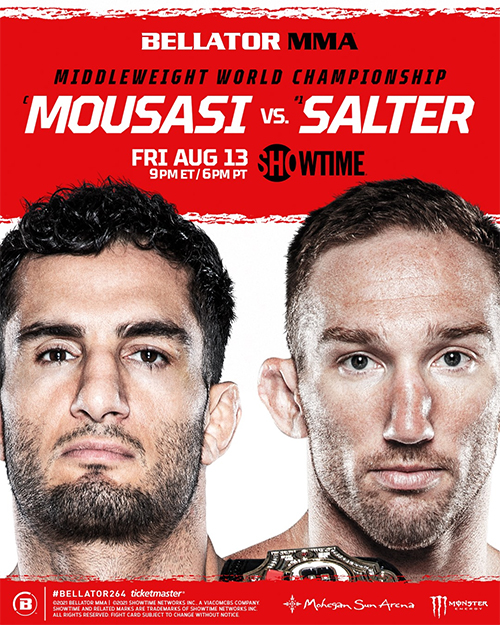 دانلود مسابقات بلاتور 264 |Bellator 264 - Mousasi vs. Salter  +تک مبارزه