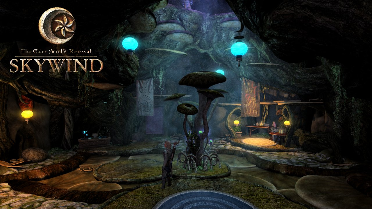 نسخه جدید Elder Scrolls ساخته هواداران به نام Skywind