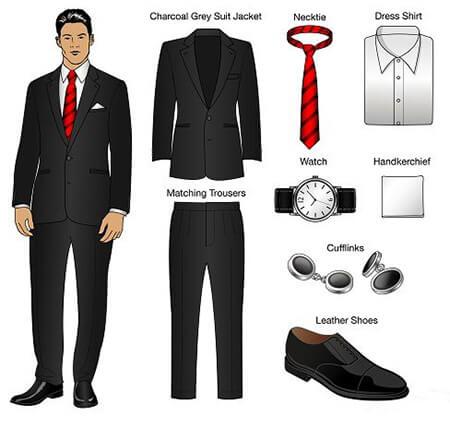 آداب لباس پوشیدن برای مراسم رسمی etiquette formal occasions