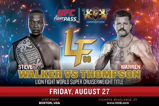 دانلود رویداد موی تای    Lion Fight 69: Walker vs. Thompson- لینک مستقیم