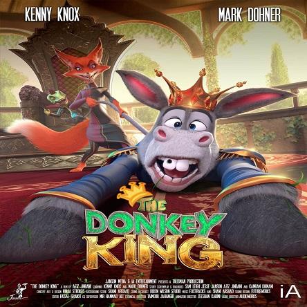دانلود انیمیشن الاغ شاه - The Donkey King 2020