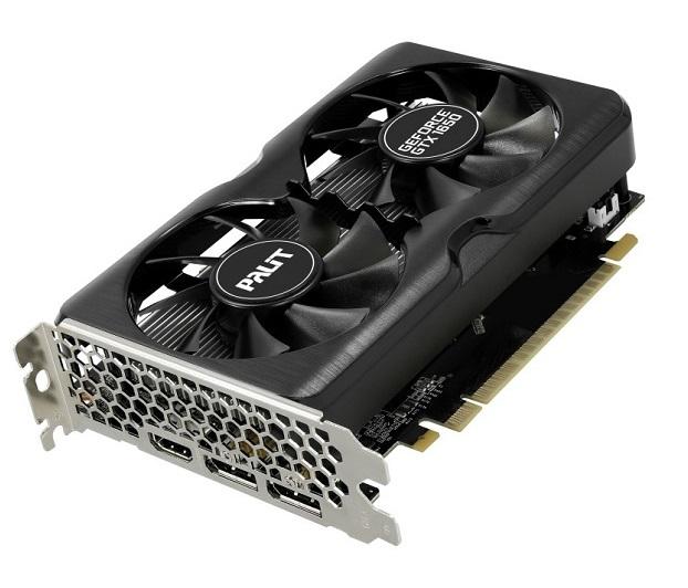 کارت گرافیک پلیت GeForce GTX 1650 GamingPro OC ظرفیت 4 گیگابایت
