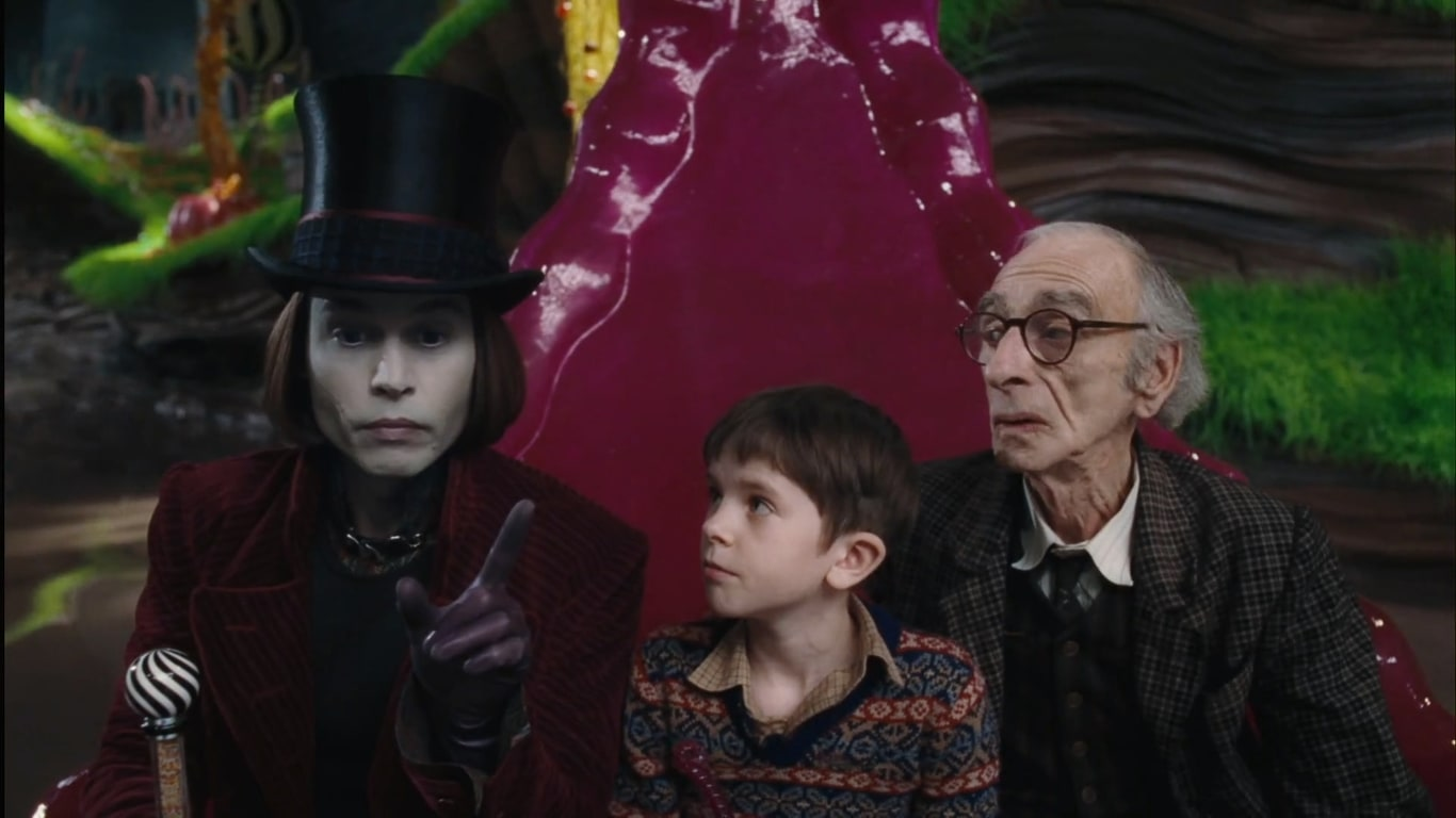فیلم سینمایی چارلی و کارخانه شکلات سازی