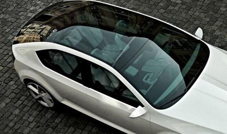 خودروهایی با سقف پانوراما Panoramic roof