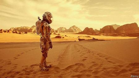 سفر به مریخ Mars برای انسان 4 سال ایمن است