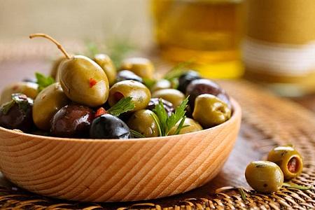 طرز تهیه انواع مختلف ترشی زیتون سبز خوشمزه green olive pickle