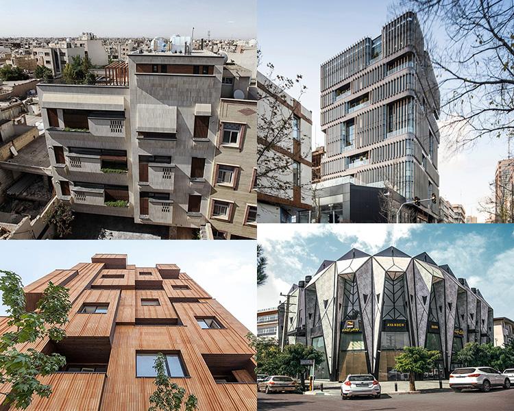 ساختمان سازی های اطراف شهر طهران